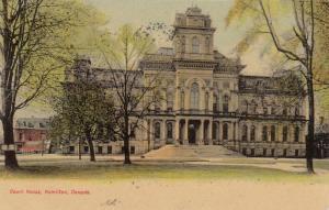 HAMILTON, Ontario , 1904 ; Court House , Version-2