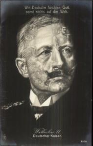 Metamorphic Fantasy - Kaiser Wilhelm Real Photo Postcard gfz