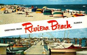 Florida Greetings From Riviera Beach
