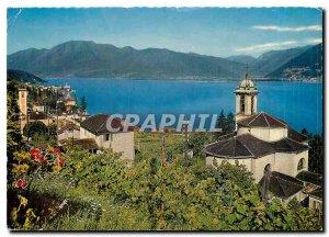 Postcard Modern II pittoresco Gambarogno Magadino