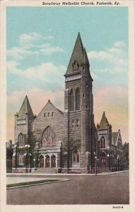Kentucky Paducah Broadway Methodist Church Curteich