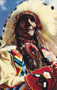 Stoney Indian Chief Sitting Eagle