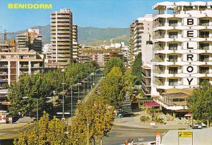 Street Scene Benidorm Alicante Spain