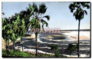 Postcard Modern Africolor View On & # 39Ocean Atlantic Cameroon