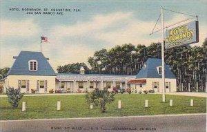 Florida St Augustine Hotel Normandy