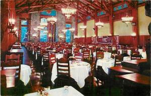 Dining room of Ahwahnee Hotel Yosemite California CA