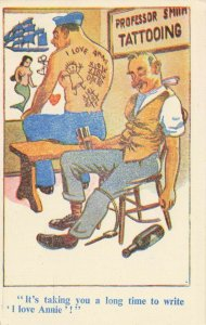 Comic Postcard Garland, Rudolf & Co. W115, Seaside Joke, Humour KL2