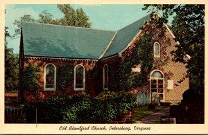 Virginia Petersburg Old BLandford Church
