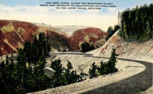 MT - Beartooth Highway, Mae West Curve