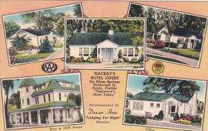 Florida Silver Springs MacKay's Hotel Court Multi View