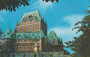 Canada Quebec La Cite The Chateau Frontenac Stands Like A Great Castle Atop C...