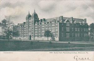 Exterior,  Berkes Hall,  Muhlenberg College,  Allentown,  Pennsylvania,  PU_1906