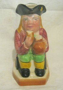 Great Avon Ware Character Toby Jug Made in England 6¾ ins tall