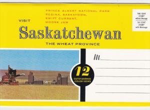 Folder Postcard #2 ; SASKATOON , Saskatchewan , Canada , 50-60s