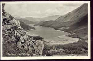 cumbria, Thirlmere and Helvellyn, Panorama (1950s) RPPC