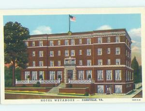 Linen HOTEL SCENE Farmville Virginia VA H0164