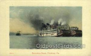 Faner Ferry Boats, Ferries, Steamer, Steam Boat, Steamboat, Ship, Ships, Post...