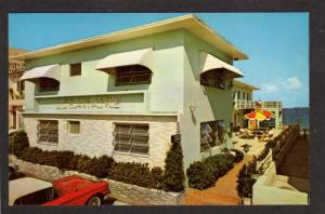FL The Oceanaire Motel Hotel FORT Ft LAUDERDALE FLORIDA