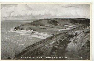 Wales Postcard - Clarach Bay - Aberystwyth - Cardiganshire - Ref 21156A
