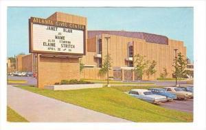 Atlanta Civic Center, Atlanta, Georgia, 1940-1960s