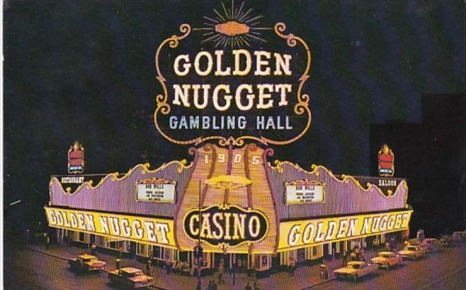 Nevada Las Vegas Golden Nugget Gambling Hall Saloon and Restaurant
