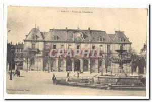 Nancy Old Postcard Palace of the & # 39academie
