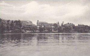 New York Livingston Manor White Roe Lake Albertype