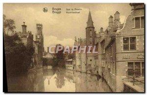 Postcard Old Bruges Quai Du Rosaire