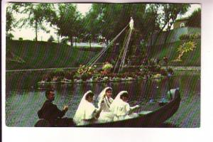 Boatride During Torchlight Procession St Mary's Lake, Notre Dame du Cap Quebe...