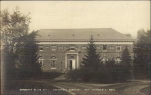 East Northfield MA Seminary c1910 Real Photo Postcard #1