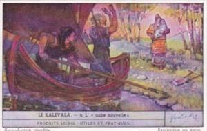 Liebig S1459 The Kalevala No 6 L'aube nouvelle