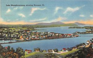 Vt. Lake Memphremagog, showing Newport