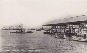 RP: Colombo Harbour & Landing Jetty , Ceylon , 1910s