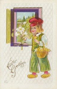 EASTER, 1900-10s ;  Dutch Boy