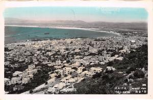 Israel Palestine Haifa General view, vue generale, original photo