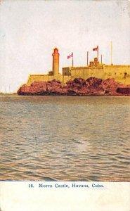 Morro Castle Havana Cuba, Republica de Cuba 1910