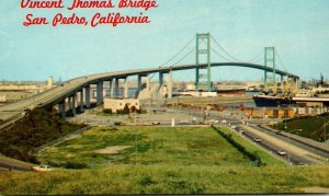 California San Pedro The Vincent Thomas Bridge