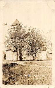 F35/ Kinde Michigan RPPC Postcard 1930 M.P. Church Building
