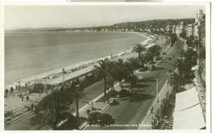 Nice, La Promenade des Anglais, 1930s unused Real Photo RP