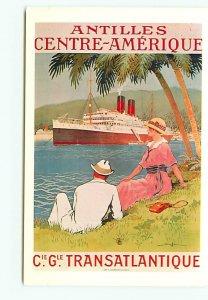 Antilles Central America C G Transatlantoque