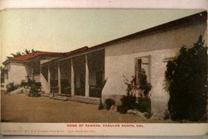 pre-1907 Unused CAMULOS RANCH Piro California CA near Los Angeles v0968