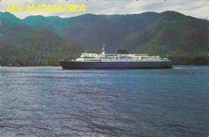 Ferry M.V. Matanuska , B.C. , Canada , 50-70s