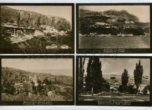 232415 RUSSIA  views Vintage set of 18 photo postcard