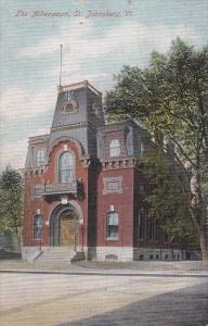 The Athenaeum, St Johnsbury, Vermont, 1909 PU