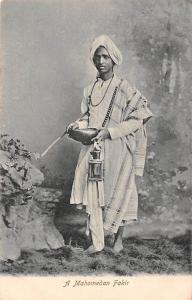 India A Mohamedan Fakir