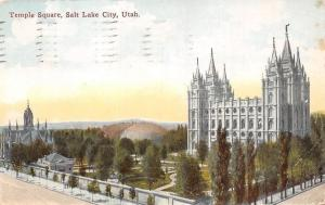USA Utah Salt Lake City, Temple Square 1912