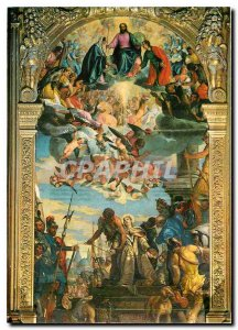 Modern Postcard Basilica di Padova S Giustina Martyrdom of St. Justine