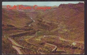 Salt River Canyon,AZ Postcard BIN