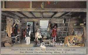 Iroquois Indian Exhibit, State Museum - Albany, New York