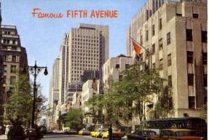 5th Avenue New York City NY Unused